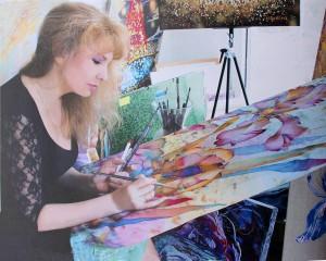 portrait de la creatrice Juravliova