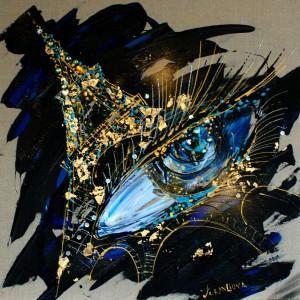 tour-eifel-la-nuit-60X60-acrylique-mixte-2012